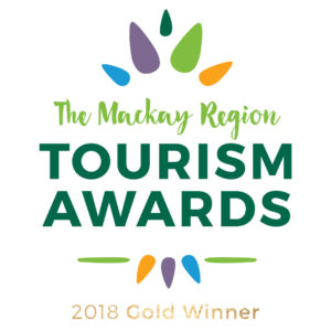 Mackay Region - Tourism Award logo